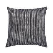 Varvunraita tyynynpäällinen musta-valkoinen